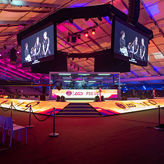 Miniature Major DOTA mainstage