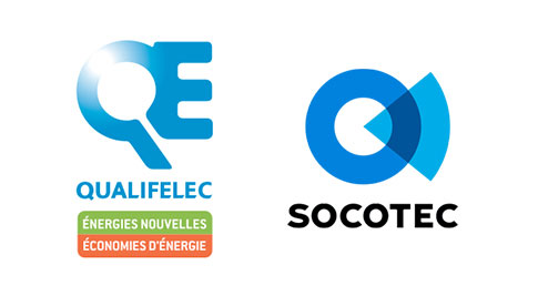 Labels Qualifelec et Socotec