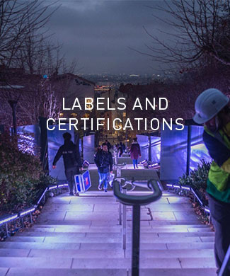 Labels and certifications