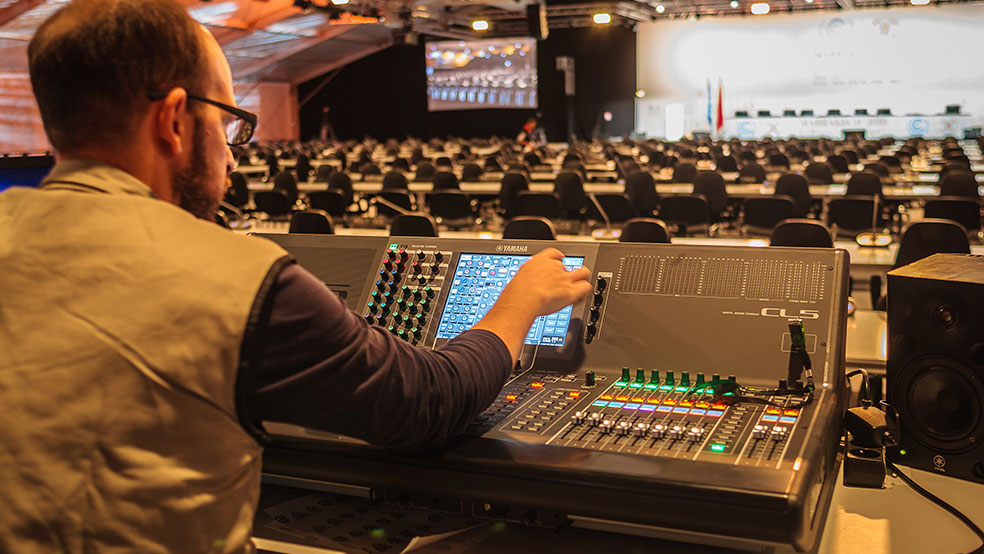 Les Hommes, la force de GL events Audiovisual