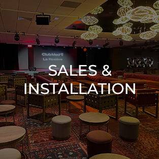 Sales and installation of audiovisual, lighting, sound and video brand new equipment
